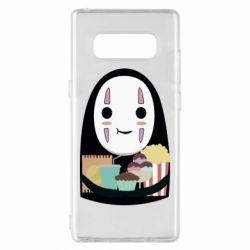 Чохол для Samsung Note 8 Безликий з вкусняшками