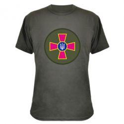 Камуфляжная футболка Безпека Військової Служби