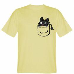 Чоловіча футболка Беззубик в кишені