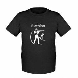 Детская футболка Biathlon - FatLine