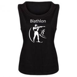 Женская майка Biathlon - FatLine