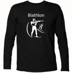 Футболка с длинным рукавом Biathlon - FatLine