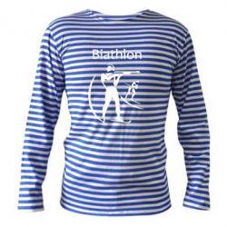 Тельняшка с длинным рукавом Biathlon - FatLine
