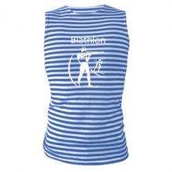 Майка-тельняшка Biathlon