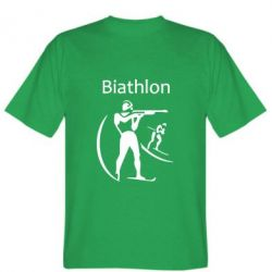 Мужская футболка Biathlon