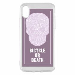 Чохол для iPhone X/Xs bicycle or death