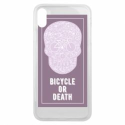 Чохол для iPhone Xs Max bicycle or death