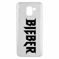 Чехол для Samsung J6 Bieber