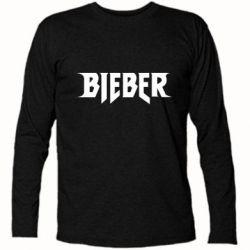 Футболка с длинным рукавом Bieber
