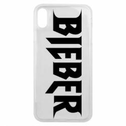 Чехол для iPhone Xs Max Bieber
