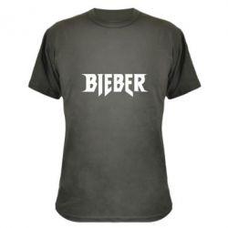 Камуфляжная футболка Bieber