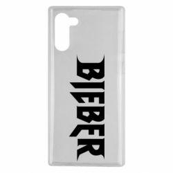 Чехол для Samsung Note 10 Bieber
