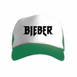 Детская кепка-тракер Bieber