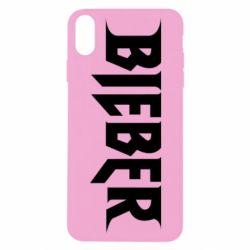 Чехол для iPhone X/Xs Bieber