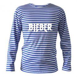 Тельняшка с длинным рукавом Bieber