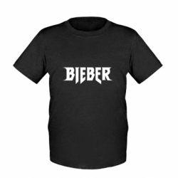 Детская футболка Bieber