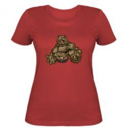 Женская футболка Big Bear - FatLine