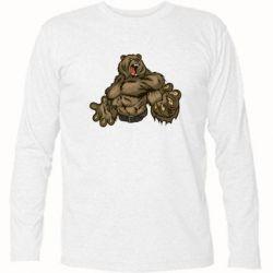 Футболка с длинным рукавом Big Bear - FatLine