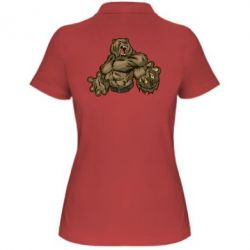 Женская футболка поло Big Bear - FatLine