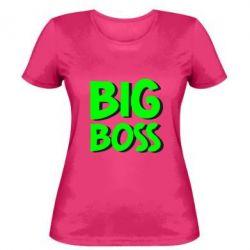 Женская футболка Big Boss