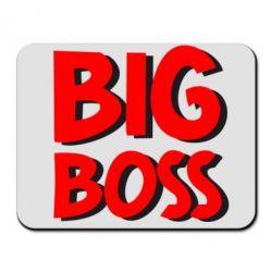 Коврик для мыши Big Boss - FatLine