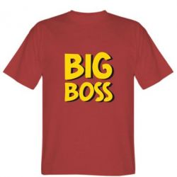 Мужская футболка Big Boss - FatLine