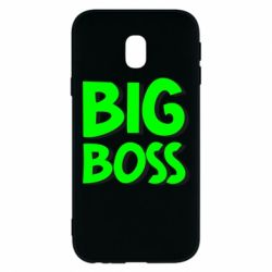 Чехол для Samsung J3 2017 Big Boss