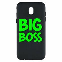 Чехол для Samsung J5 2017 Big Boss
