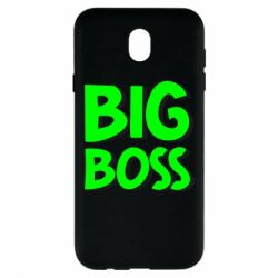 Чехол для Samsung J7 2017 Big Boss