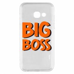 Чехол для Samsung A3 2017 Big Boss