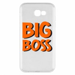 Чехол для Samsung A7 2017 Big Boss