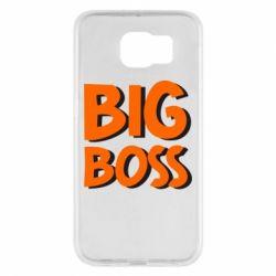 Чехол для Samsung S6 Big Boss