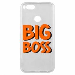 Чехол для Xiaomi Mi A1 Big Boss