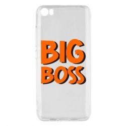 Чехол для Xiaomi Mi5/Mi5 Pro Big Boss