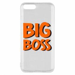 Чехол для Xiaomi Mi6 Big Boss