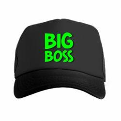 Кепка-тракер Big Boss