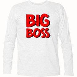 Футболка с длинным рукавом Big Boss - FatLine