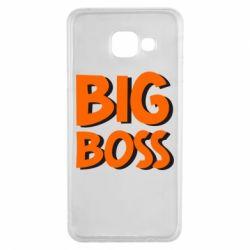 Чехол для Samsung A3 2016 Big Boss