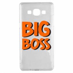 Чехол для Samsung A5 2015 Big Boss