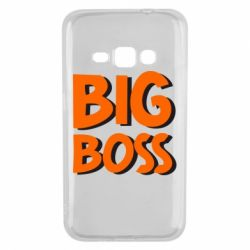 Чехол для Samsung J1 2016 Big Boss