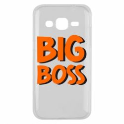 Чехол для Samsung J2 2015 Big Boss