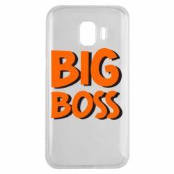 Чехол для Samsung J2 2018 Big Boss