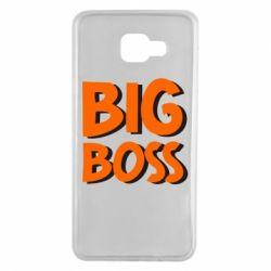 Чехол для Samsung A7 2016 Big Boss