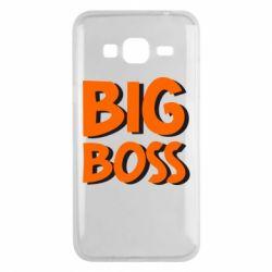 Чехол для Samsung J3 2016 Big Boss