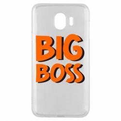 Чехол для Samsung J4 Big Boss