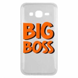 Чехол для Samsung J5 2015 Big Boss