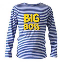 Тельняшка с длинным рукавом Big Boss - FatLine