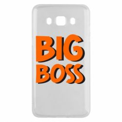 Чехол для Samsung J5 2016 Big Boss