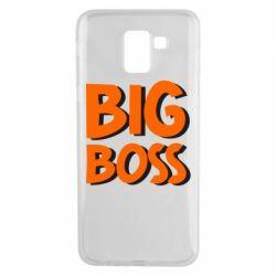 Чехол для Samsung J6 Big Boss
