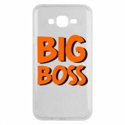 Чехол для Samsung J7 2015 Big Boss